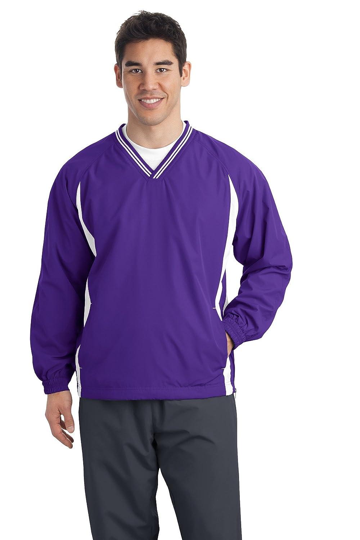 Sport - TekメンズTipped - Purple/White Vネックラグラン風シャツ Sport B00PCRQURI Purple/White XX-Large XX-Large|Purple/White, PICAPICA:d78067f9 --- gallery-rugdoll.com