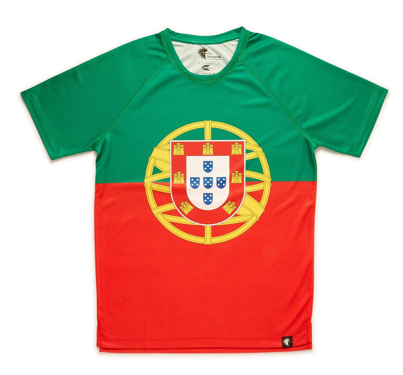 Camiseta Portugal Niño, Niña, Manga Corta, Running, Gimnasio #APortuguesa