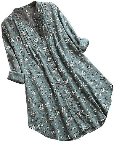 Women/'s Ladies Lace Long Sleeve T-Shirts Boho Longline Tunic Tops Blouse Casual
