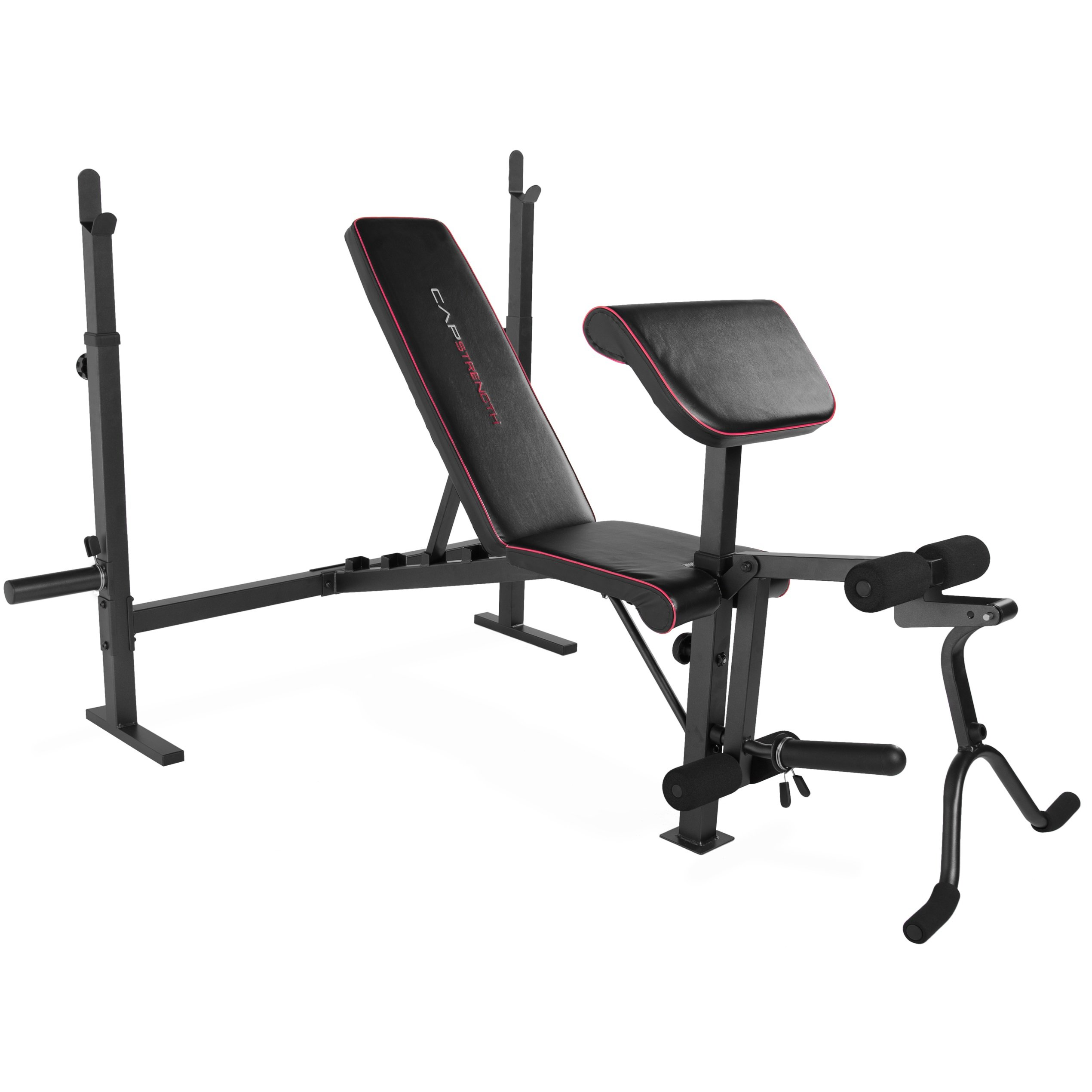 CAP Strength Olympic Weight Bench with Preacher Pad & Leg Attachment by CAP Barbell