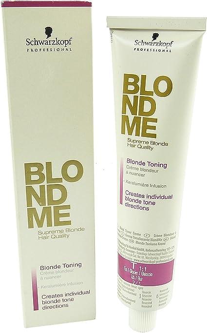 Schwarzkopf BM Blonde Toning Strawberry Tinte - 100 ml ...