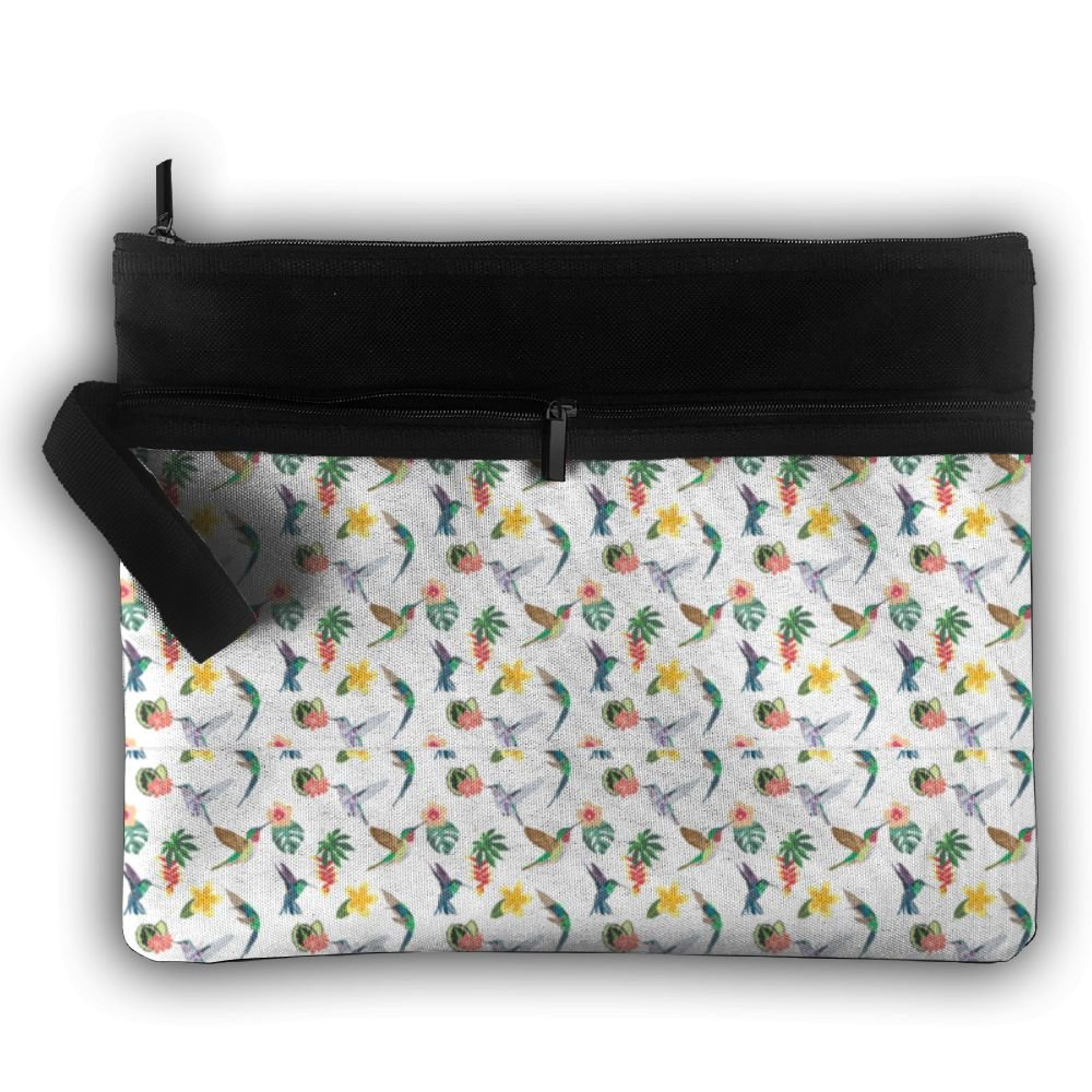 f18f210f4680 Hummingbird Cosmetic Bag For Purse Cosmetic Toiletry Makeup Bag For ...