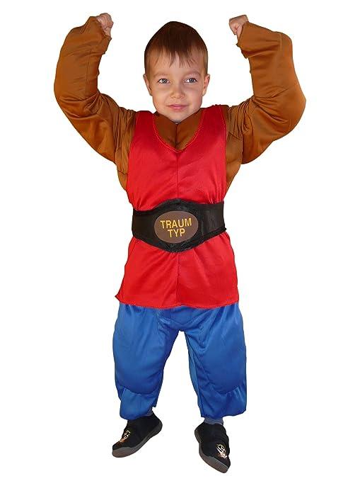 ikumaal  Ikumaal To70 Taglia 2-4A (92-104cm) Costume Uomo muscoloso per ...