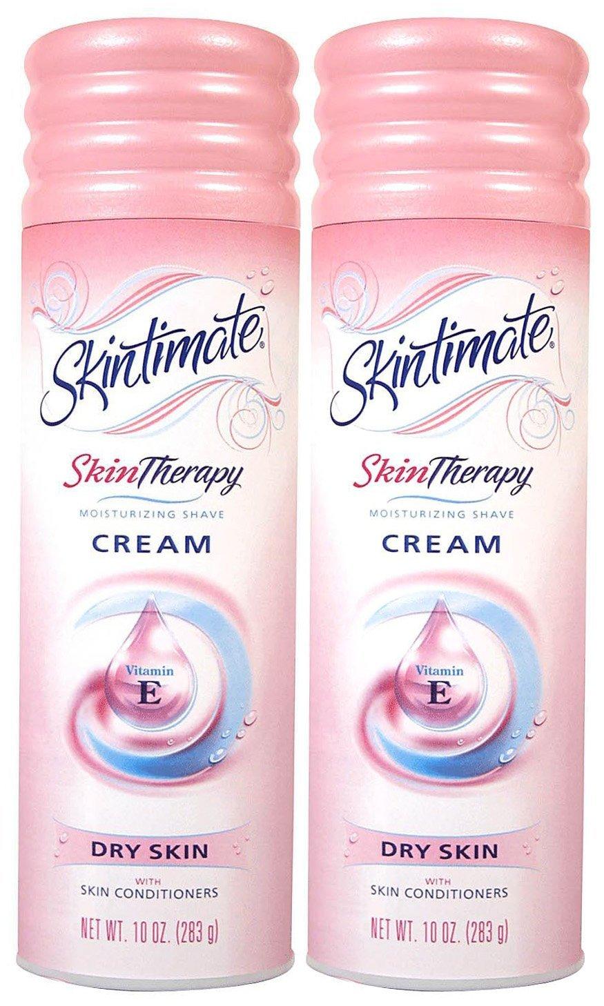 Skintimate Skin Therapy Moisturizing Shave Cream Dry Skin. 1 each