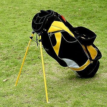 ZXX Bolsa de Golf Amarilla para Hombres y Mujeres: Amazon ...