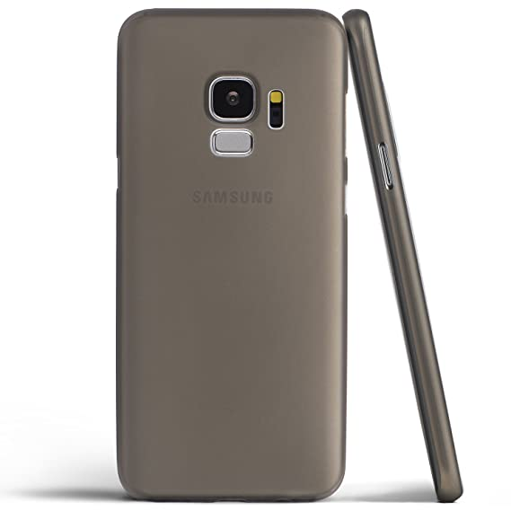 buy popular c70be 51cfc totallee Galaxy S9 Case, Thinnest Cover Premium Ultra Thin Light Slim  Minimal Anti-Scratch Protective - for Samsung Galaxy S9 (Grey)