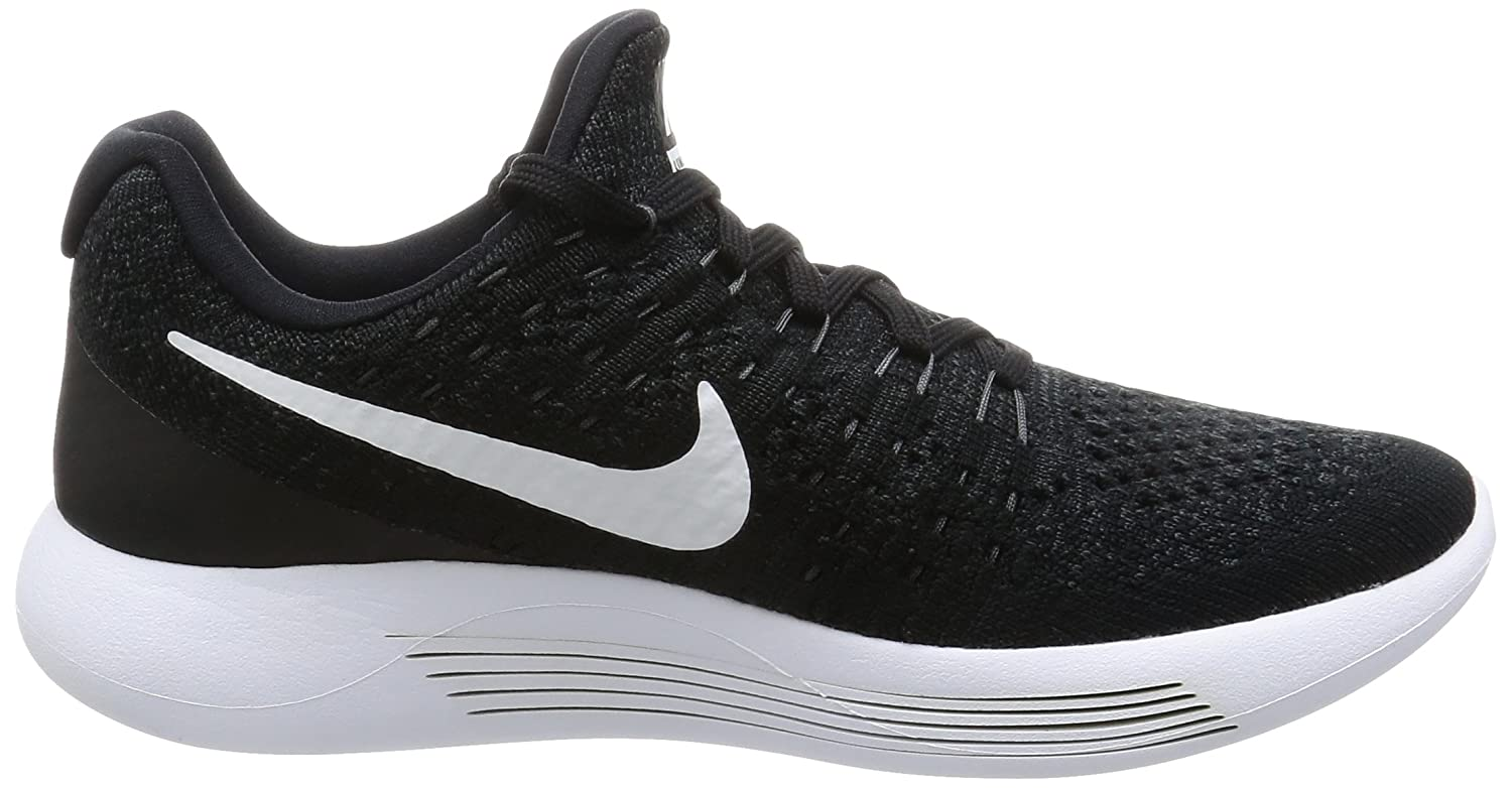 NIKE Women's Lunarepic Low Flyknit 2 Running Shoe B07FS479NL 7 B(M) US|Black/White/Anthracite