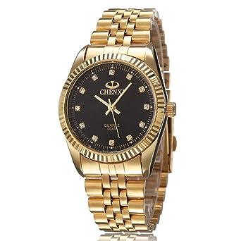 Herren armbanduhr in gold