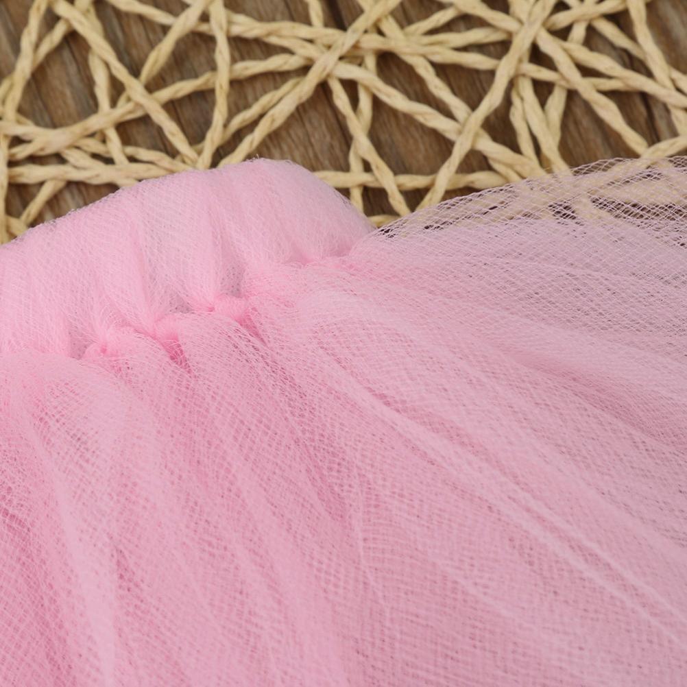 rosa bobo4818 T/üllrock Tutu Baby Newborn 0-3 Monate Spitze Set Kleidung Foto Prop Jahrestag Outfits