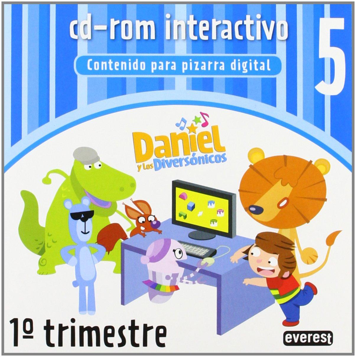 Daniel y los Diversónicos 5 años. 1º trimestre. Cd-rom ...