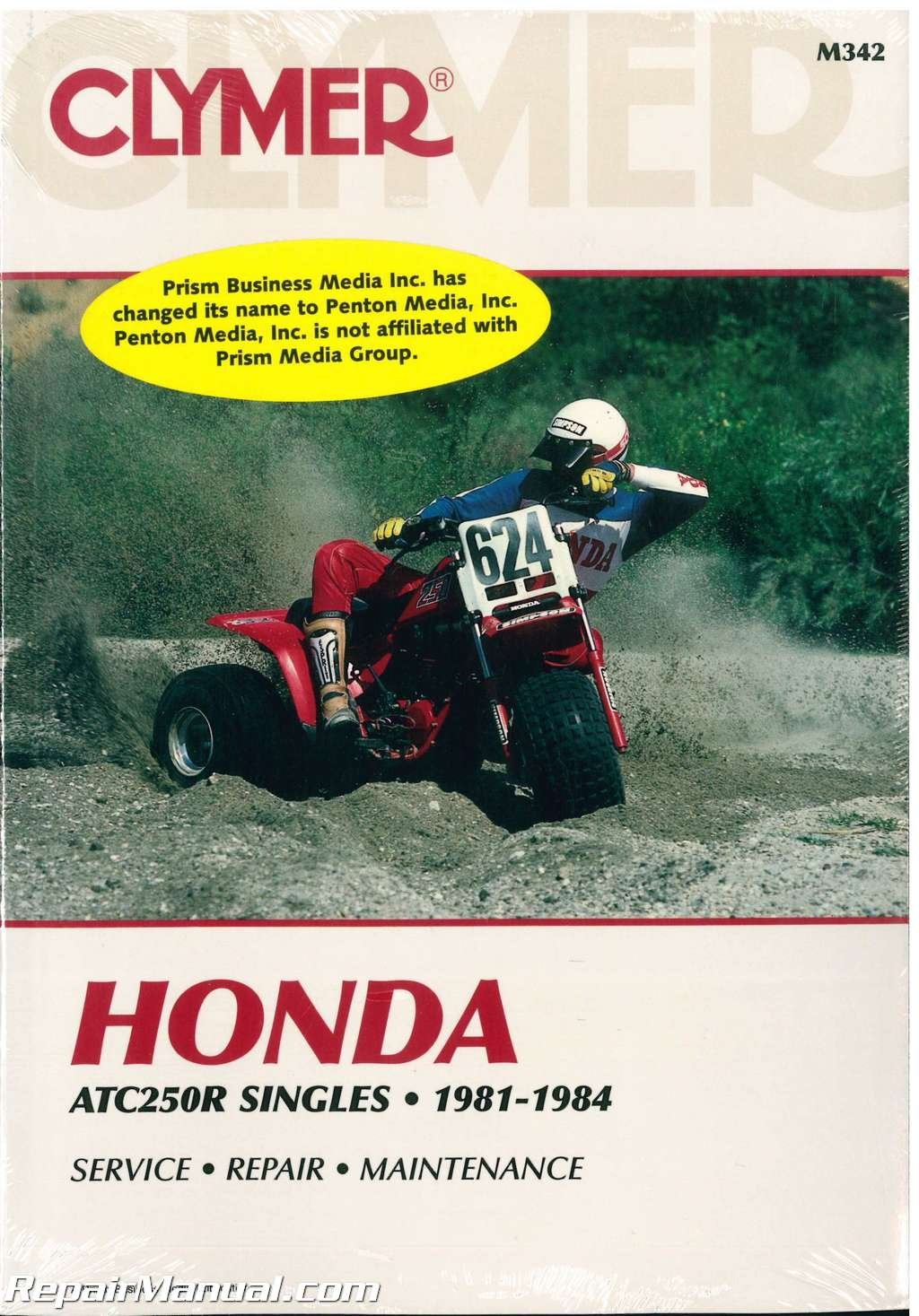 M342 Honda ATC 250R 1981 1982 1983 1984 Clymer Repair Manual: Manufacturer:  Amazon.com: Books