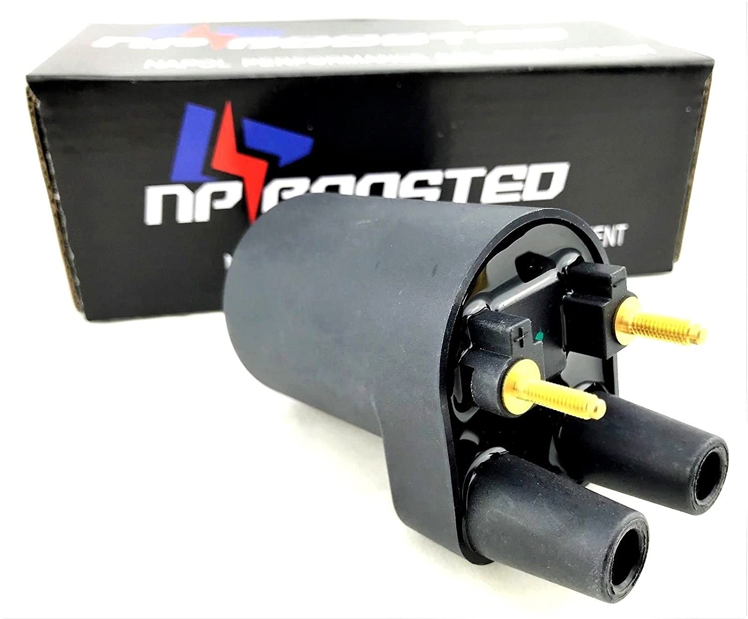 Replaces Onan Ignition Coil 12V P Model 541-0522 166-0820 HE166-0761 HE541-0522 NPBoosted