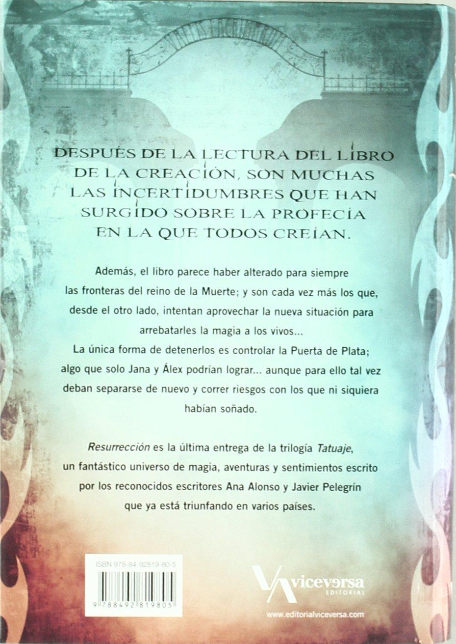 Resurrección: Tatuaje III (Viceversa juvenil): Amazon.es: Conejo ...