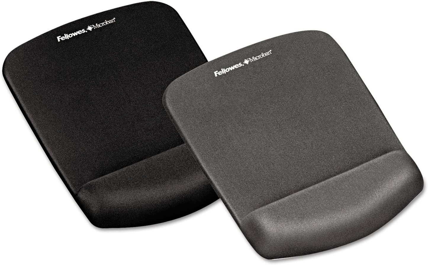 Fellowes 9252201 Microban Wrist Rest//Mouse Pad Graphite