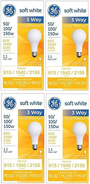 Top 10 Ge Light Bulb 150 Watt Clear A16h