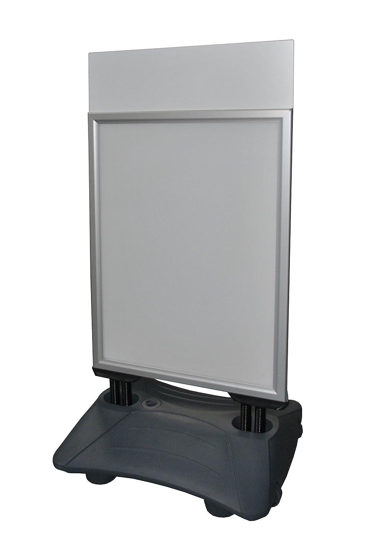Dila GmbH Kundenstopper A1 mit wasserbefüllbarer Standplatte und ...