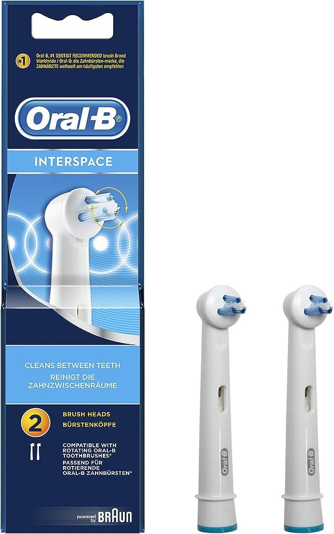 Oral-B - Pack de 2 cabezales para cepillos de dientes recargables ...
