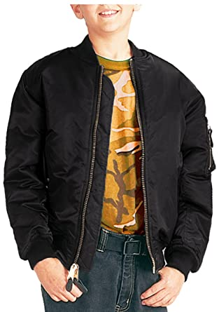 Amazon.com: Boys Bomber Jacket, Kids MA-1 Flight Jacket: Clothing