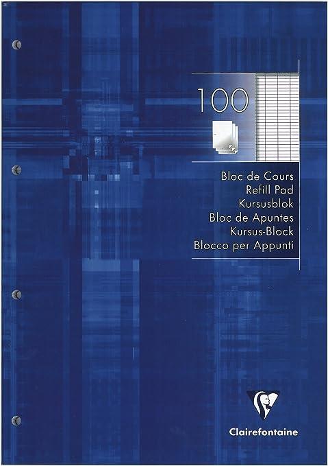 Clairefontaine Notizblock Arbeit Praxis A4 Zuf/ällige Farbauswahl