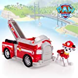 Paw Patrol Basic Vehicle - Marshall Toy for Kids, Age 3 Years and Above