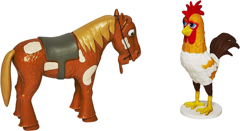 La Granja de Zenón - Set de 2 Figuras (Zenón y Lorito Pepe)