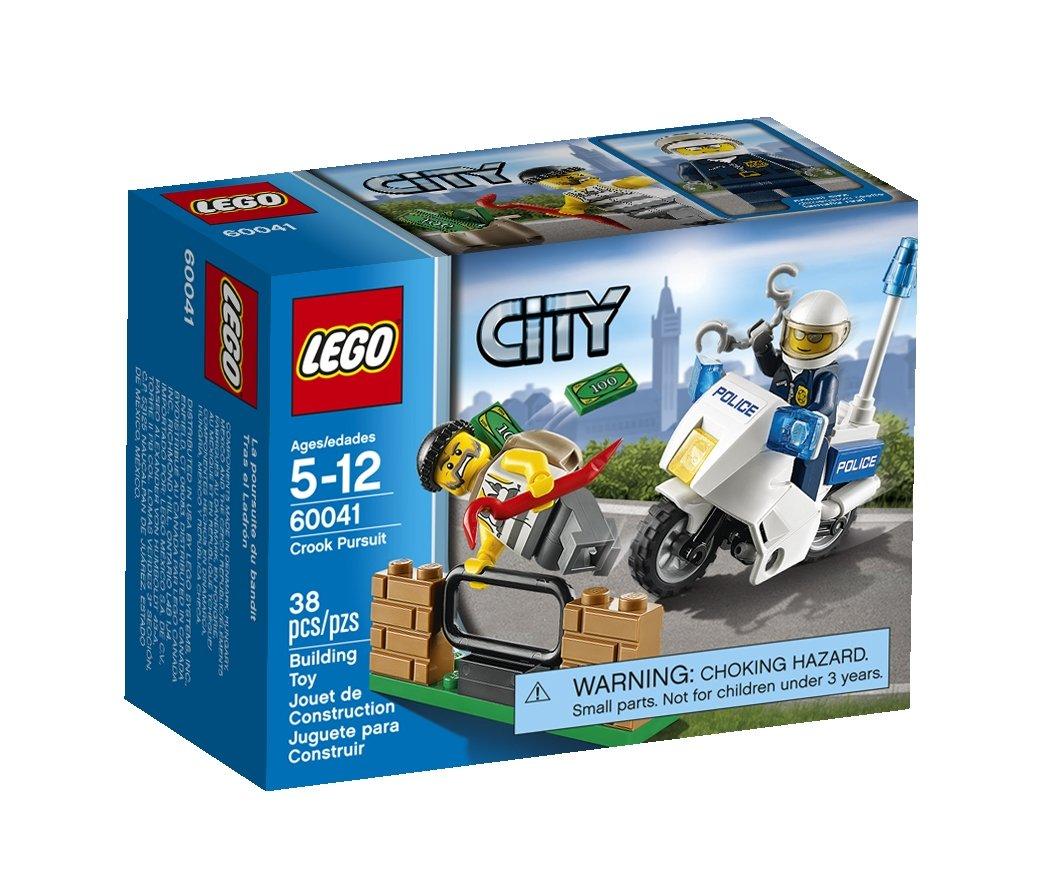 LEGO City Crook Pursuit Kinder/Mädchen 38Stück Baukasten–-Spiele Bau (Mehrfarbig, 5Jahr (E), 38Stück (S), Kinder/Mädchen, 12Jahr (E)) 6059003