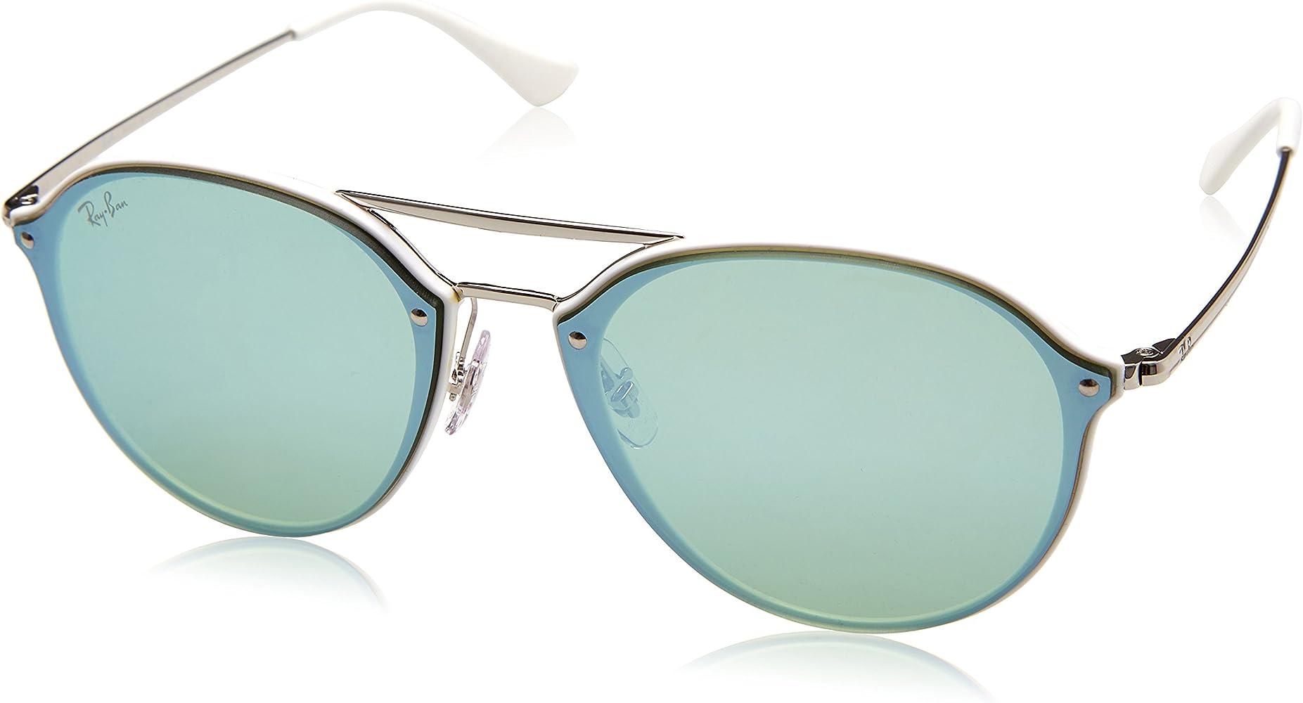 56857d13e986eb RAYBAN JUNIOR Unisex-Erwachsene Sonnenbrille Blaze Double Bridge ...