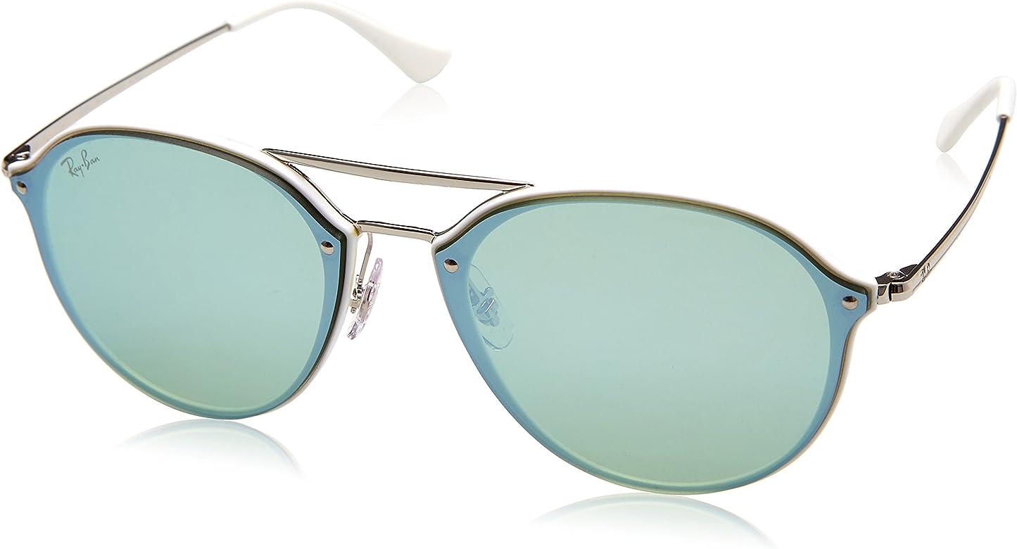Ray-Ban 0RB4292N, Gafas de Sol Unisex adulto, Blanco (Silver ...
