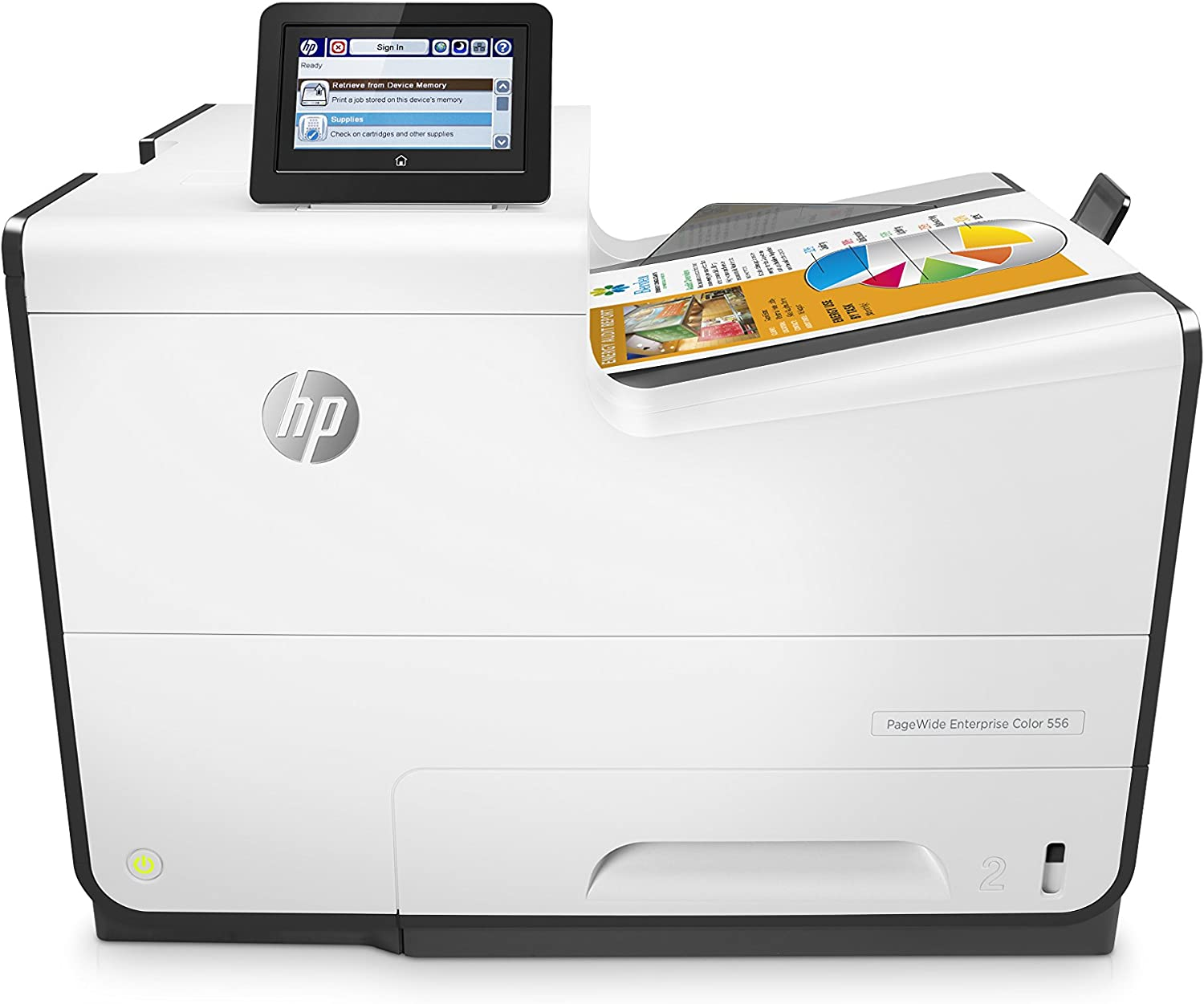 HP G1W46A PAGEWIDE ENT COL 556DN Commercial