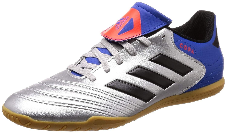 adidas Herren Copa Tango 18.4 in Futsalschuhe, Weiß/Schwarz Weiß/Schwarz DB2449