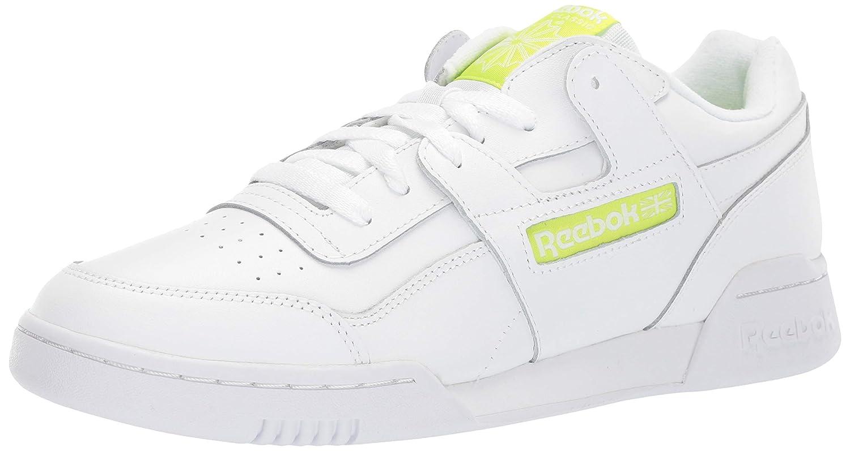 blanc Neon Lime 48 EU Reebok - Workout Plus Homme