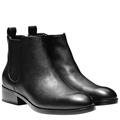 Women's Landsman Bootie II (8.5 B(M) Black Leather)