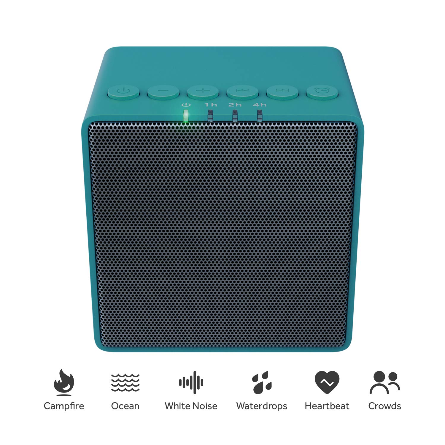 White Noise Machine, X-Sense Sound Machine for Sleeping, 30 Non-Looping Soothing Sounds with 30 Levels of Volume, High Quality Speaker and Switchable Lights, Memory Function and 7 Timer Settings by X-Sense