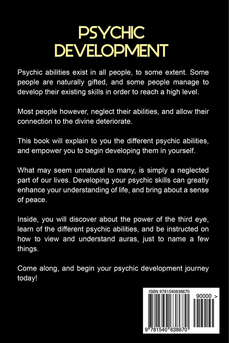 What are some facts about psychic abilities?