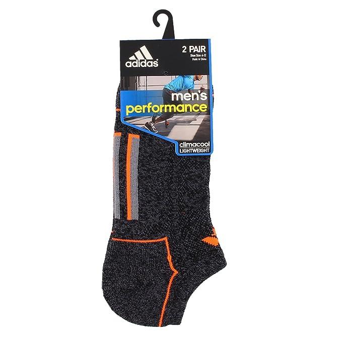 Adidas Climacool II - Calcetines para Hombre (2 Unidades), Hombre, Color Black Onix Marl/Solar Orange/Grey, tamaño 6-12: Amazon.es: Deportes y aire libre