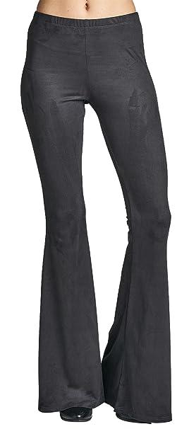 Amazon.com: Algodón Bleu cintura alta ligero primavera ante ...