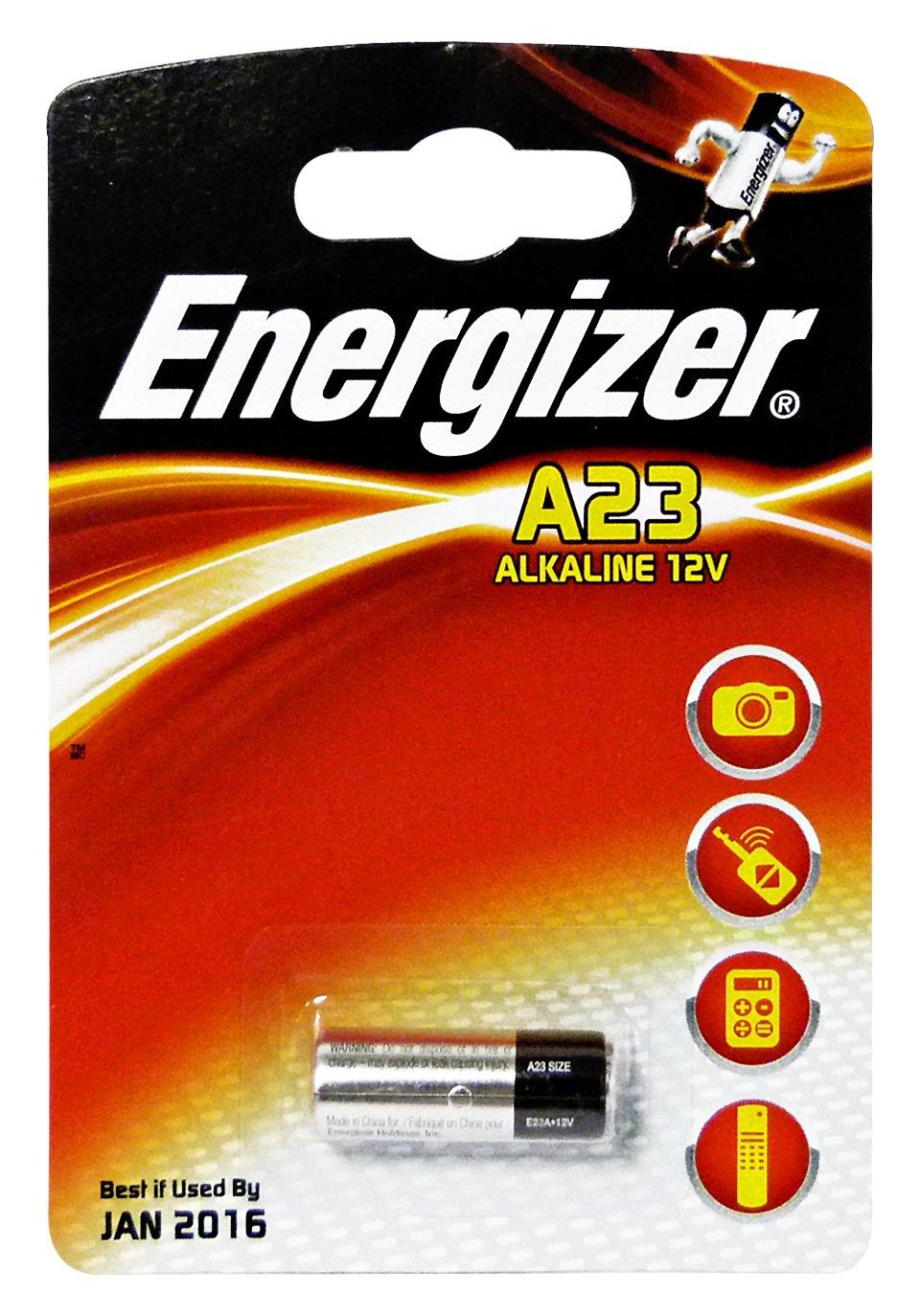 Energizer A23 Mn21 Lrv08 Gp23a 12v Alkaline Battery Amazon