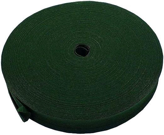 Cinta de cierre de 25 mm, 100 % algodón, color verde hoja, 1 m ...