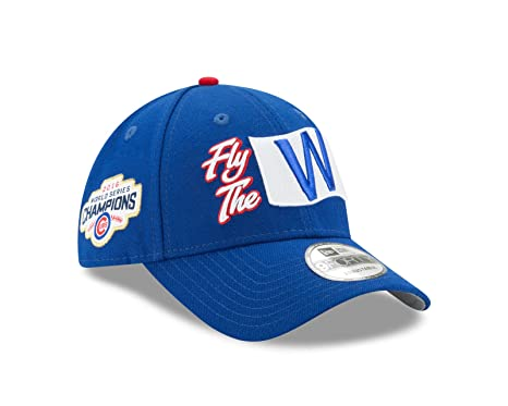 66fa0ee6cc8 Image Unavailable. Image not available for. Color  New Era Chicago Cubs  2016 World Series Champions MLB 9Forty Fly The W Hat
