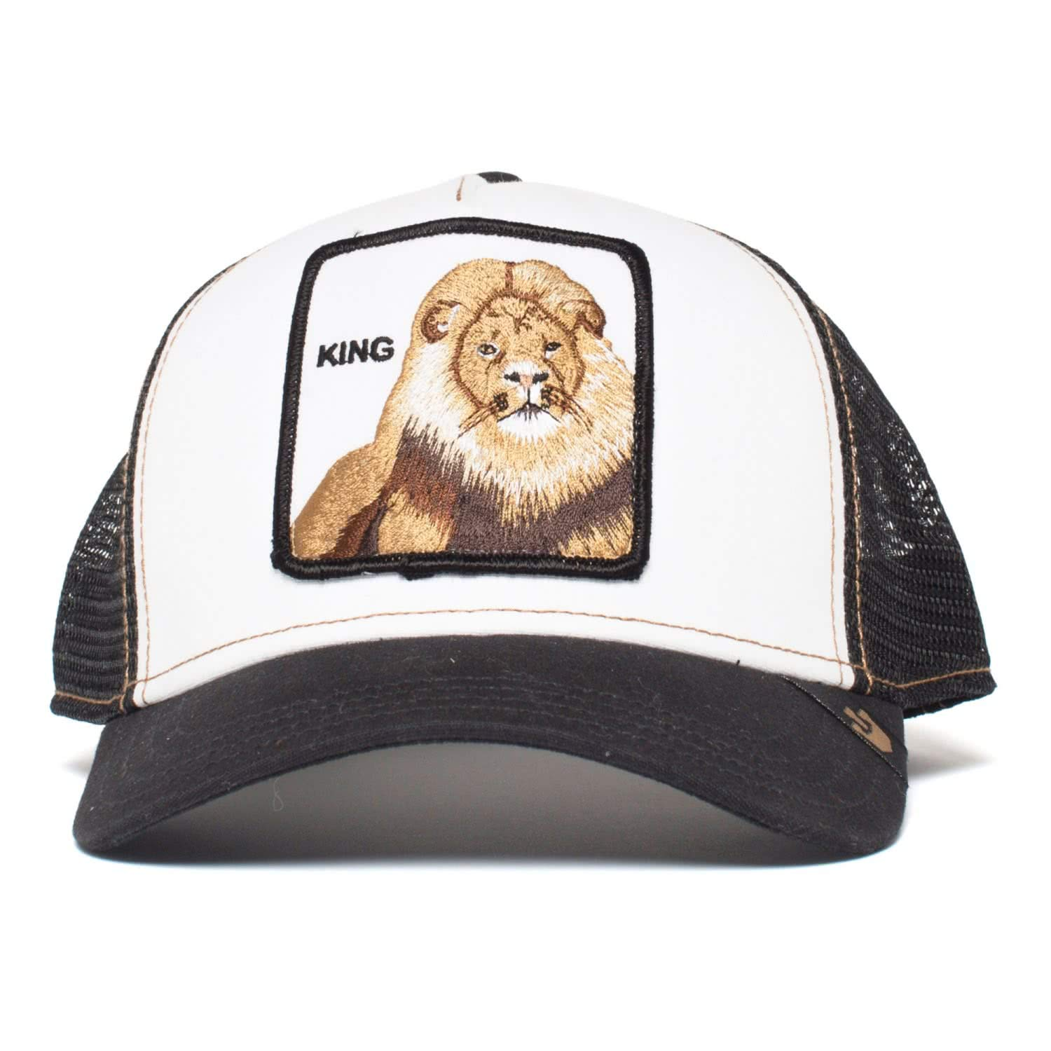 ca7610e7 Goorin Brothers Animal Farm Trucker Hat - Wild Collection King/Black, One  Size: Amazon.co.uk: Clothing