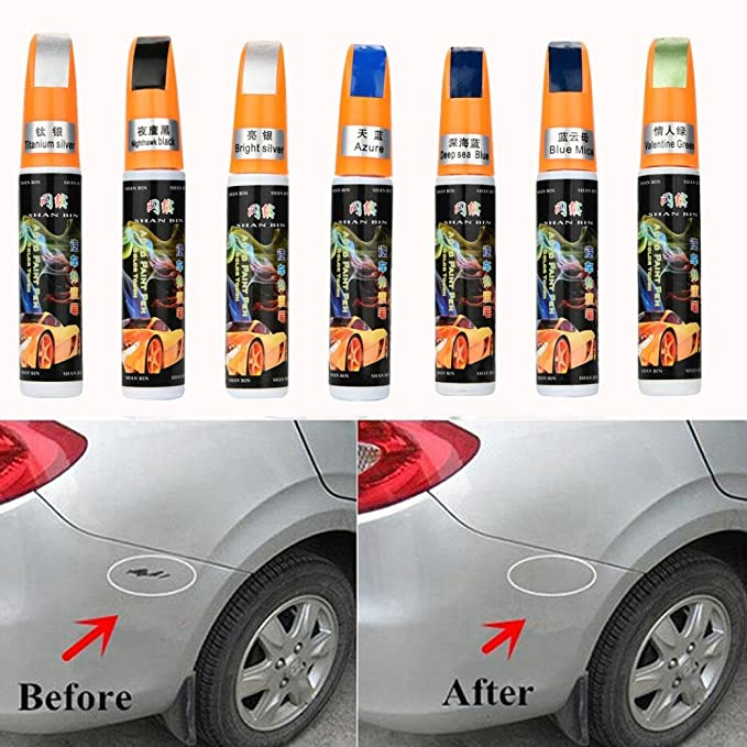 Amazon.com: Colors Auto Car Coat Paint Pen Touch Up Scratch Clear Repair Remover Remove Tool Car Scratch Remover Fix By Makaor (As picture, ...