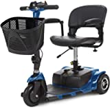 Vive 3-Wheel Mobility Scooter - Electric Powered Mobile Wheelchair Device for Adults - Folding, Collapsible and Compact…