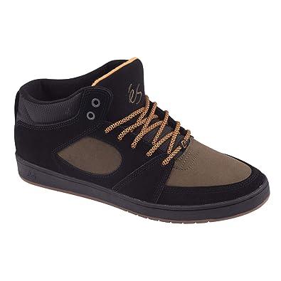 b45d88752d eS Men s Accel Slim MID Skate Shoe Black Brown 5 Medium US
