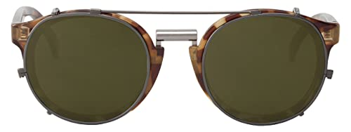 MR.BOHO, High-Contrast tortoise newtown with classical lenses - Gafas De Sol unisex multicolor (care...
