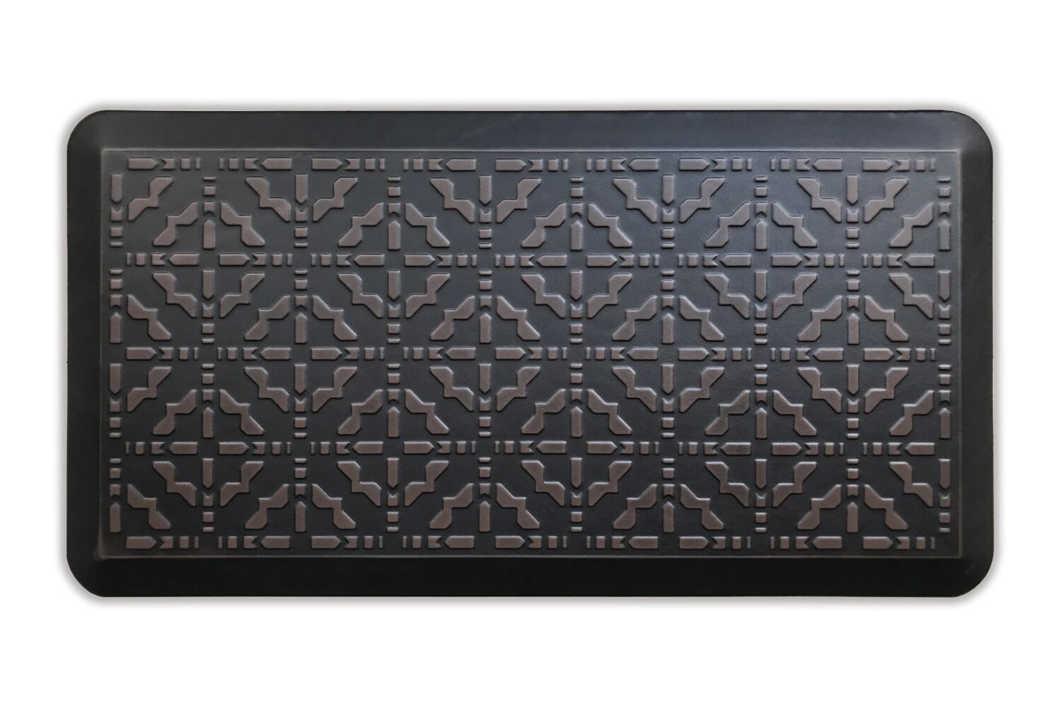 Butterfly Kitchen Mat Anti Fatigue Comfort Floor Mats - Perfect For kitchen and Standing Desks, Non-Toxic, Highest Quality Material, Waterproof, 20 x 39 inches, Dark.Antique by Butterfly