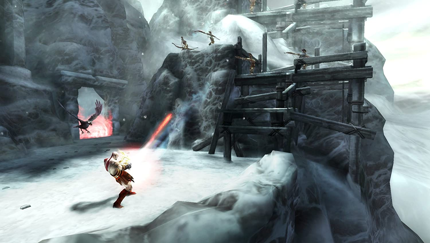 Amazon com: God of War: Ghost of Sparta - Sony PSP: Video Games