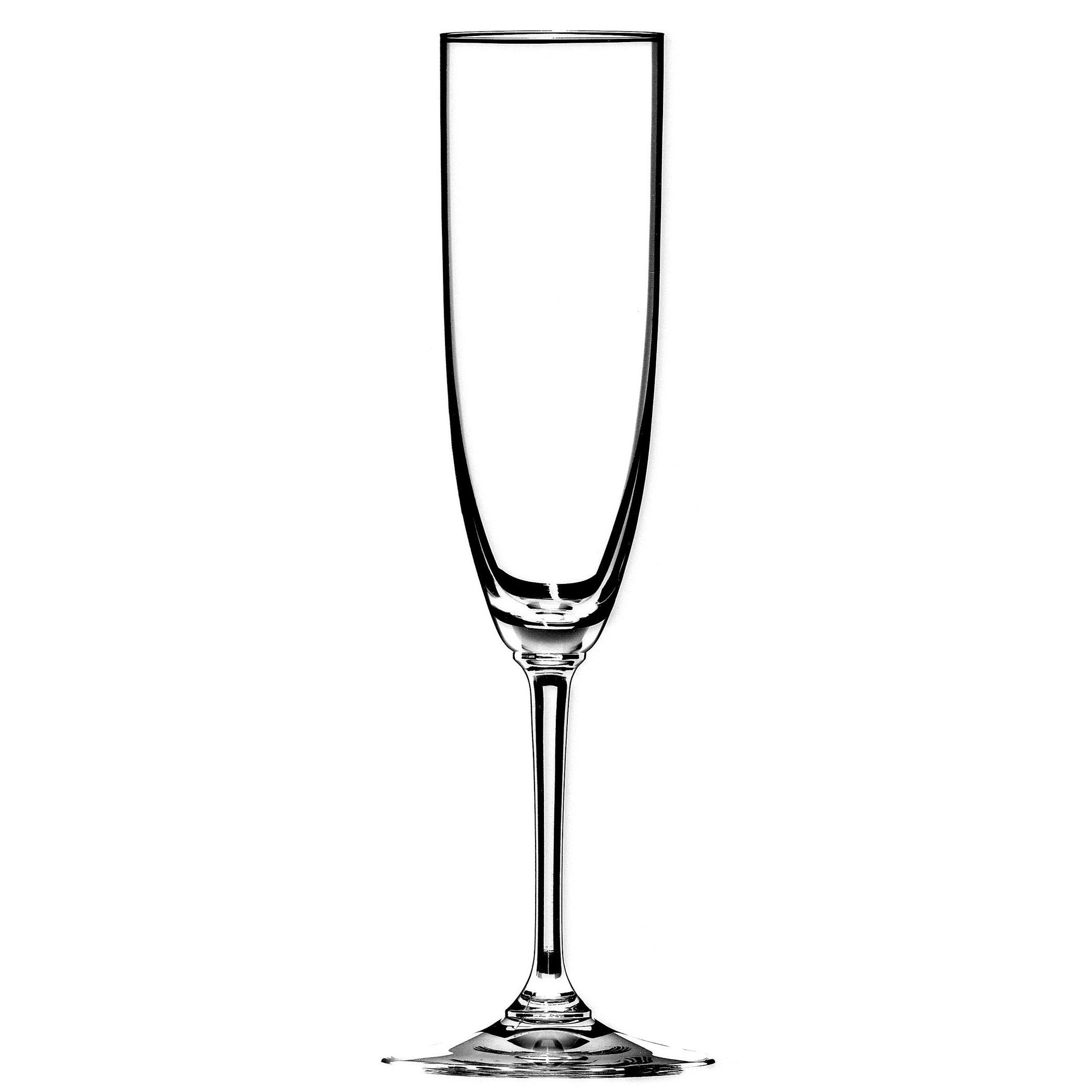 Riedel Vinum Leaded Crystal Champagne Flute, Set of 4