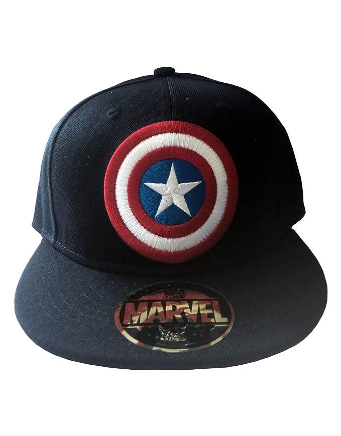 Captain America Shield Cap nuevo Oficial nuevo Azul snapback Gorra ...