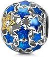 NinaQueen - Notte stellata - Charms Bead da donna argento sterling 925