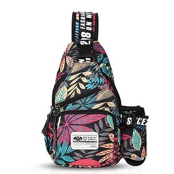 Amazon.com  FANDARE Chest Bag Sling Bag Men Women One Shoulder Strap  Crossbody Bag Sport Gym Bag Waterproof Polyester Red  FANDARE-COM ed2517bb22